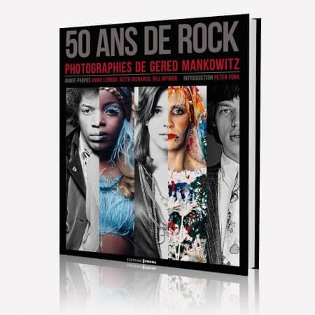 livre 50 ans de rock, passion musique