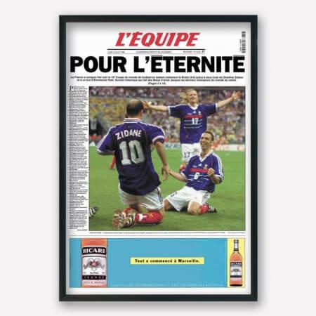 l'equipe 12 juillet 1998