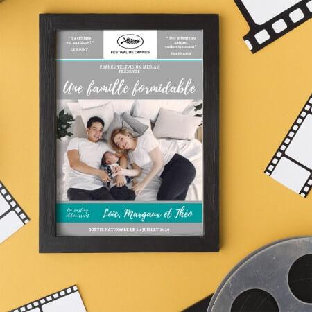 affiche cinéma personnalisée